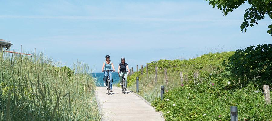 Fahrradtour an der Ostee in Weissenhaus